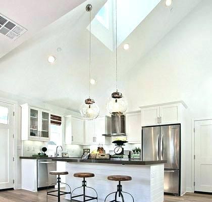 I Dislike The Steep Vaulted Ceiling In A Kitchen Doesn T