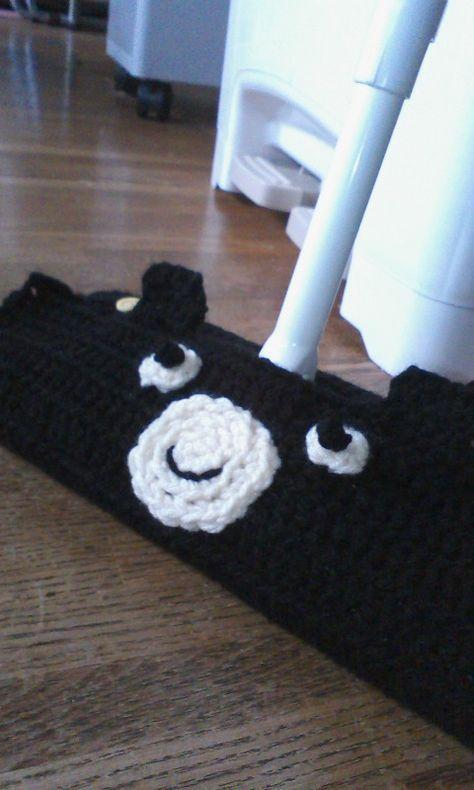 出しっぱなしokクイックルワイパーくま の作り方 その他 ファッション アトリエ アクリルたわし 編み方 毛糸クラフト アクリルたわし 編み図