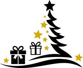 Christmas Tree Stars Vector Icon Silhouette Ad Stars Tree Christmas Silhouette Icon Ad In 2020 Christmas Tree Star Christmas Tree Vector Icons