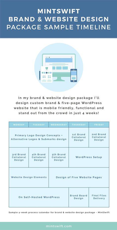 Custom Premade Logo Design - PREVIEW of Premade Logo Design - sample calendar timeline