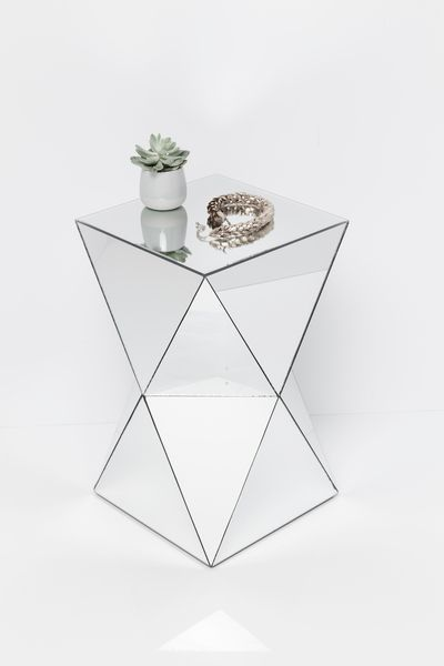 Beistelltisch Luxury Triangle Beistelltisch Tisch Beistelltische