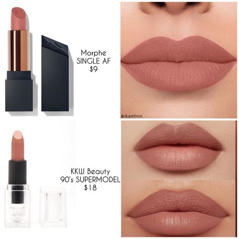 Lipstick dupes 388294799124765042 - Source by azertyyuiopn Drugstore Makeup Dupes, Lipstick Dupes, Beauty Dupes, Lipstick Shades, Beauty Makeup, Beauty Hacks, Lipsticks, Beauty Products, Makeup Products