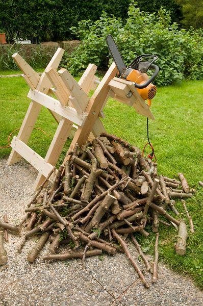 Hopfällbar sågbock | Axotron Blog | Sågbock, Projekt i trä