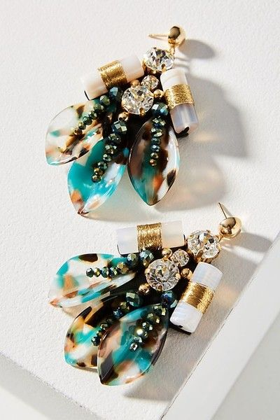 Lihua Drop Earrings - Statement Earrings to Spice Up Any Outfit - Photos