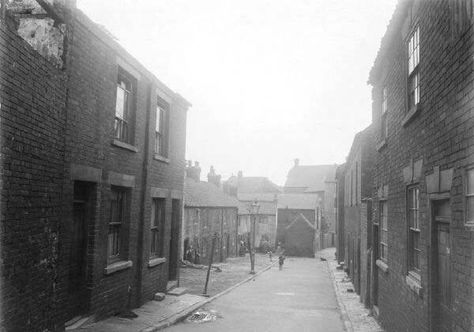 Swan Street Idlewells Sutton in Ashfield 1934