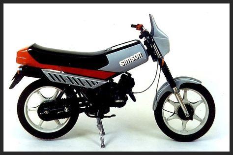 Prototype S52-1 Kleinkraftrad, Modell 1985