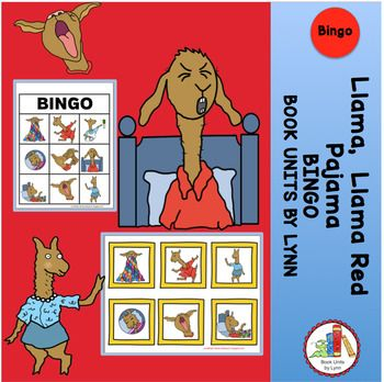 Llama Llama Red Pajama Bingo Llama Llama Red Pajama Red