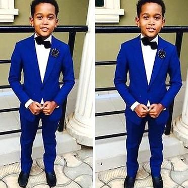 Hot Sale Page Boys Suits In Custom Size Children Ball Party Comfortable Tuxedos