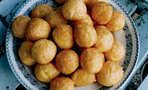These delicate cheese gougères always impress. Once you get the hang of the dough, you'll serve them at every opportunity.