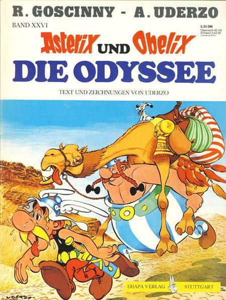 Asterix Und Obelix Die Odyssee Comics Comic Paper Graphic Novel