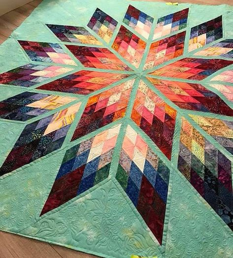 how to do crazy patchwork Lone Star Quilt Pattern, Star Quilt Blocks, Star Quilt Patterns, Star Quilts, Patchwork Patterns, Patchwork Designs, Block Patterns, Amische Quilts, Bargello Quilts