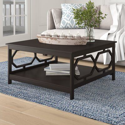 Beachcrest Home Sager Coffee Table In 2020 Decorating Coffee Tables Cool Coffee Tables X Coffee Table