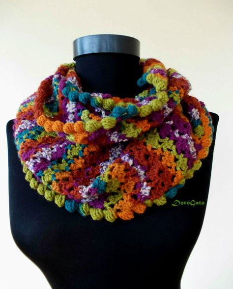 PDF DOWNLOAD Crochet scarf pattern Easy crochet by PatternsDG $5.65
