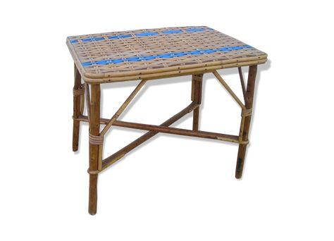 Table Basse Bout De Canape En Osier Rotin Canape En Osier Bout