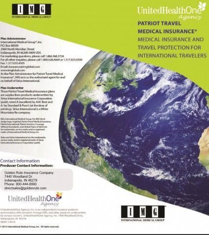 Our Img Health Insurance Policy For Our Overseas Trip