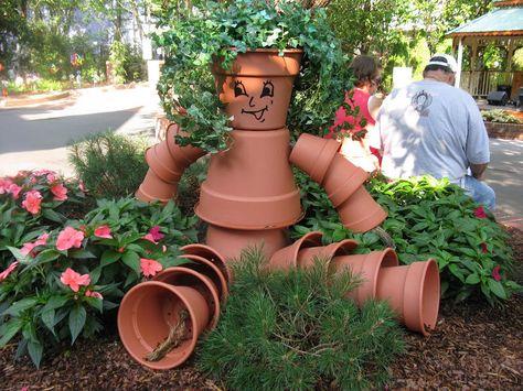 They Call Me Jammi: Terra Cotta Flowerpot Art
