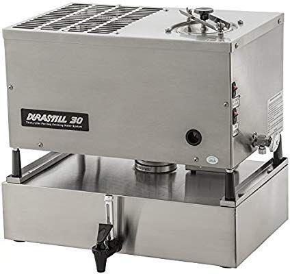 Durastill 46 Liter Per Day Automatic Water Distiller With 15 Litre