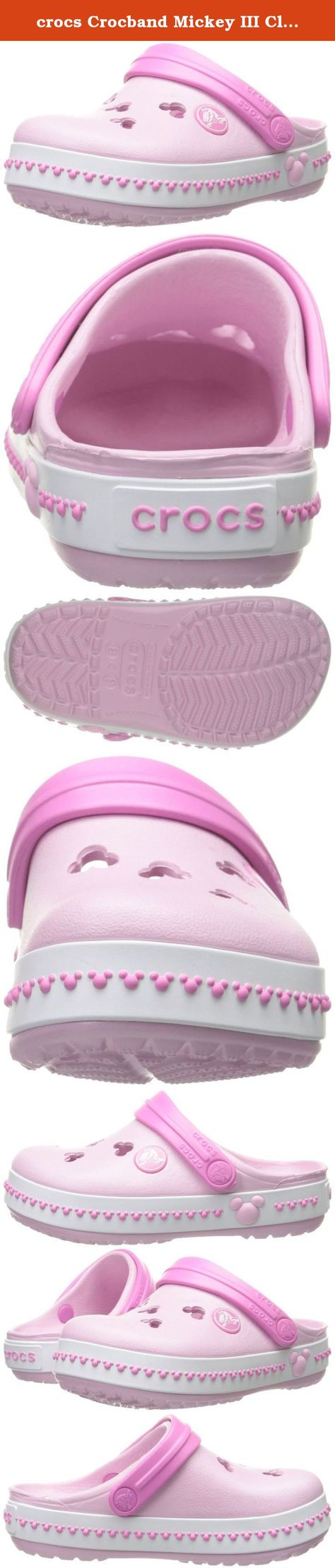 NEW Girl/'s Junior Crocs Party Pink Water Freindly Clogs//Sandals Pink C6