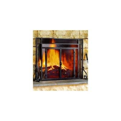Easton Prairie Cabinet Steel Fireplace Doors With Images