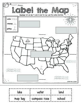 Kindergarten Worksheet. Map Reading Worksheets. Brunokone ...