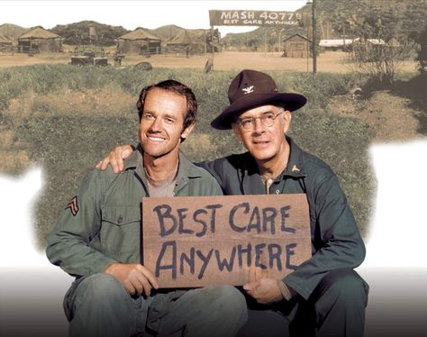 Favorite show of all time #MASH