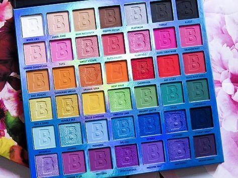 EYN Bright 42 Colour Palette Review