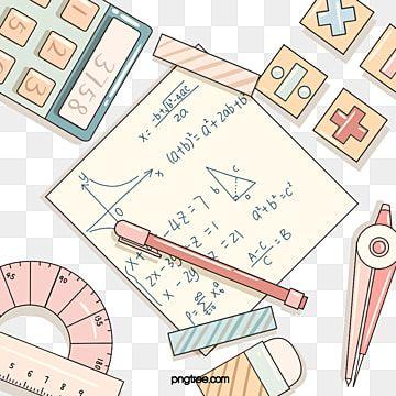 Multyashnyj Stil Elementy Matematiki Kanctovary Matematicheskij Klipart Matematika Chernovoj Variant Png I Psd Fajl Png Dlya Besplatnoj Zagruzki School Chalkboard Art Cartoon Styles Math Clipart