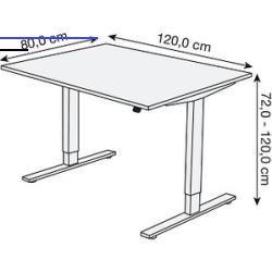 Entrywaytables Der Elektrisch Hohenverstellbare Schreibtisch Move 1 Fur Ihre Individu In 2020 Hohenverstellbarer Schreibtisch Schreibtisch Weiss Grauer Schreibtisch