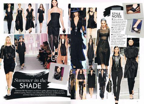 vogue UK spring summer trends 2013