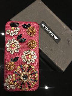 Réduction rétro couleurs harmonieuses Genuine #DolceGabbana D&G Jewell Real Swarovski Leather I ...