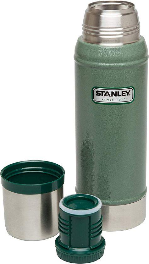 Hammertone Navy 0.75 Liter Integrierter Thermobecher Doppelwandige Isolierung Isolierflasche Isolierkanne Kaffeekanne Stanley Legendary Classic Vakuum-Thermoskanne 18//8 Stainless Edelstahl