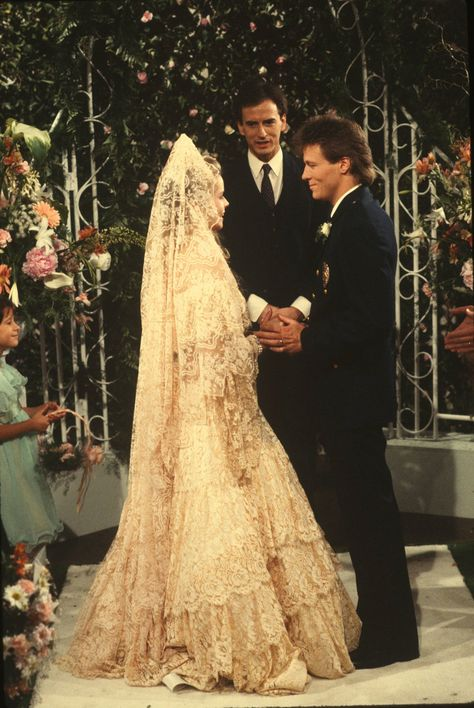 GENERAL HOSPITAL - Frisco and Felicia wedding - 6/23/86  #GH #GeneralHospital
