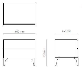 Dimensions Moonlight Bedside Table Bedside Table Wooden Bedside Table Bedside Table Dimensions