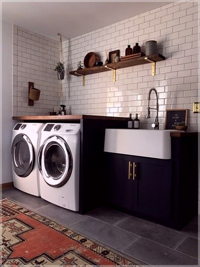82 Remarkable Laundry Room Layout Ideas For The Perfect Home Drop Zones Homelovers Laundry Room Tile Laundry Room Layouts Laundry Room Design
