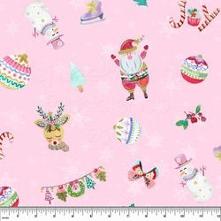 Pab Peppermint Christmas Cotton Lycra Printable Sewing Patterns Fabric Patterns Fabric