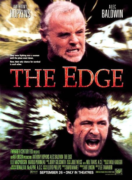 فيلم The Edge 1997 مترجم مشاهدة و تحميل Anthony Hopkins The Edge Film Anthony Hopkins Movies
