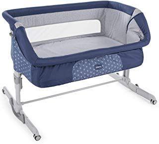 Braun h/öhenverstellbares Babybett Made in Italy CAM 2 in 1 Beistellbett /& Babywiege CULLAMI ❤ praktisch /& sch/ön hochwertige Materialien