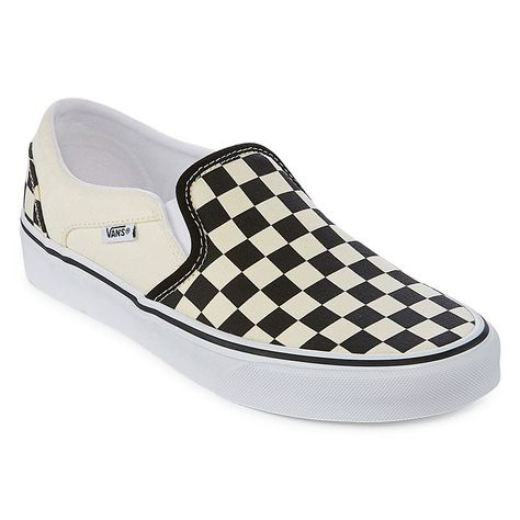 8528cbe9fc0 Vans Asher Slip-On Womens Skate Shoes