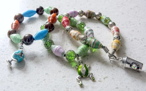 Paper Beads You Can Make in Minutes! - Mod Podge Rocks