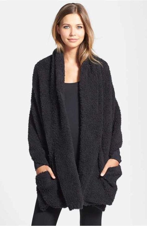 Free shipping and returns on Barefoot Dreams® CozyChic Lite® Circle Cardigan at Nordstrom.com. A lightweight and cozy knit enriches the comfort of a long lounge cardigan that looks great around the house or out on errands.