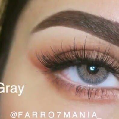 New The 10 Best Eye Makeup Ideas Today With Pictures عدسات ماي لنس لون لايت جراي متوفرة تجميلي ونظر بسعر مناسب جداااا جداااا المدة سنوية القط