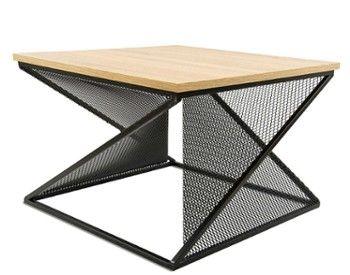 Stolik Kawowy Cross Czarny Jasny Dab Side Table Home Decor Decor