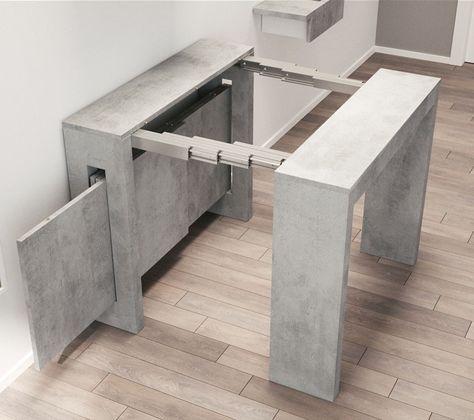 Ikea Tavolo Consolle Allungabile.Consolle Allungabile In Laminato Puzzle Arredaclick Mobili