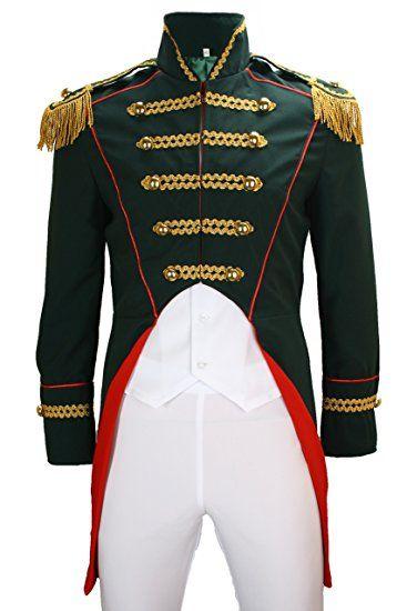 Karnevalskostüm Soldat Napoleon Damen Jacke Uniform Fasching