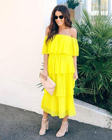 28++ Bonifacio tiered pleated midi dress inspirations