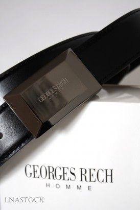 15c463b53405 Ceinture Homme plaque noire Homme - DEVRED 1902   Mode   Wolle kaufen