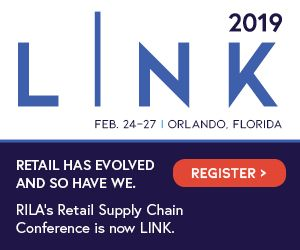 We Are Delighted To Announce That We Will Be A Part Of Rila S Link2019 The Retail Supply Chain Conference Feb 2 Retail Supplies Supply Chain Orlando Florida
