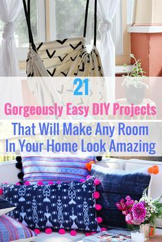 21 Fun DIY Projects That Will Make Your Bedroom More Cozy | Easy Diy Room  Decor, Teen DIY And Cozy Room