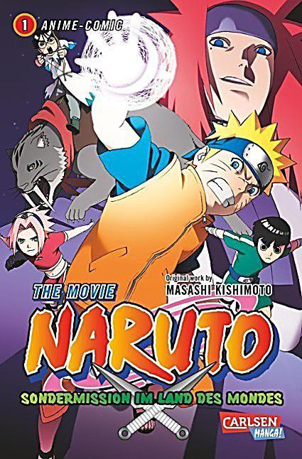 Naruto The Movie Sondermission Im Land Des Mondes Buch Versandkostenfrei Naruto Filme Bucher