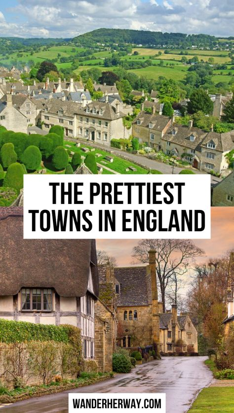 The Prettiest England Countryside Towns The Places Youll Go, Places To See, England Countryside, English Village, English Cottages, Castles In England, Places To Travel, Travel Destinations, Beautiful Places